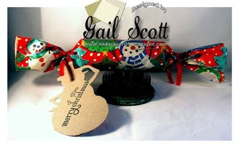 christmas cracker gift gail s paper creations cards
