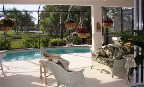 Florida Lanai Decorating Ideas by Spectacular Spaces Offers Tips In Area Magazines For