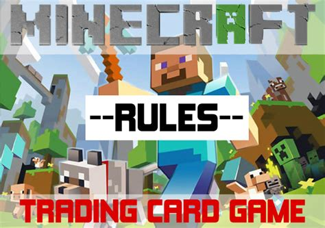 Where Can I Buy A Minecraft Gift Card - minecraft trading card game rules by acaroa on deviantart