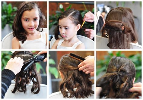 hairstyles for kitty party create a classic curl hairstyle for girls