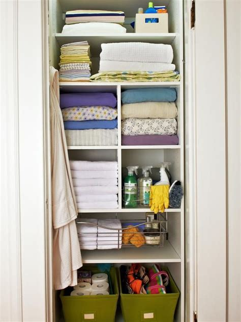 how to organize bathroom closet 25 best small linen closets ideas on bathroom