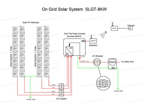 solar single line diagram solar roof tiles 8kw grid tie solar panel systems for all