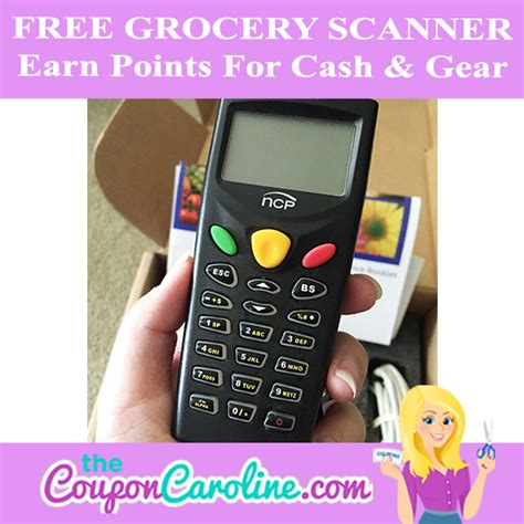 20000 Grocery Giveaway - hot free grocery scanner earn points for rewards the coupon caroline