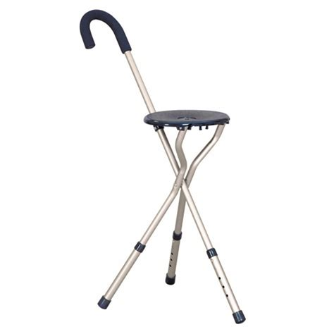 walking stick with seat height adjustable stick seat walking stick seats