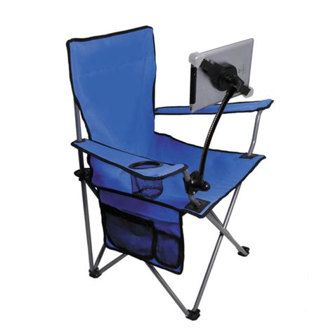 Folding Chair Stand by Cta Digital Folding Lawn Chair With Adjustable Universal