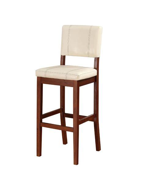 bar stools cream linon milano bar stool cream