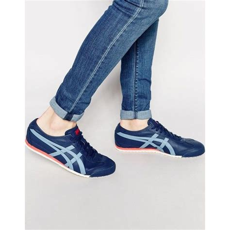 Sepatu Asics Tiger Onitsuka Mexico 66 2 Addict3d onitsuka tiger mexico 66 trainers 110 cad liked on polyvore featuring s fashion s