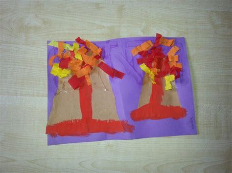 volcano craft for volcano craft school