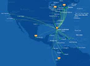 Jet Blue Route Map by Jetblue Launches Flights To Mexico City World Airline News