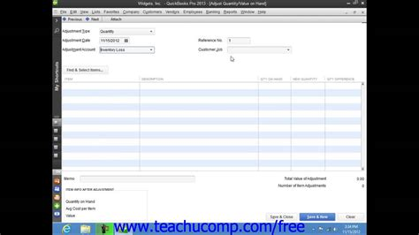 tutorial on quickbooks 2013 quickbooks pro 2013 tutorial adjusting inventory intuit