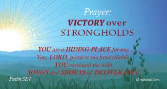 Daily Light On The Daily Path Prayer For Victory Over Strongholds