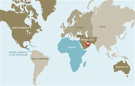 uae in world map tourism in dubai