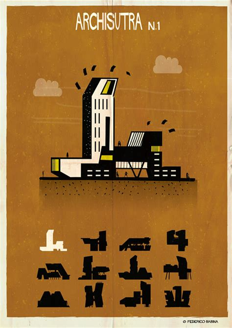 design sutra competition buildings get busy in federico babina s archisutra series