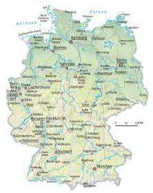 A Map Of Germany by Map Of Germany With Cities Free Printable Maps