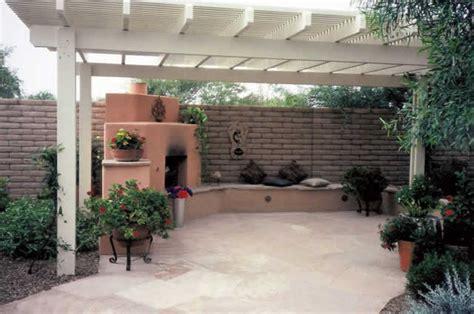 Backyard Ramada Ideas Ramadas Tucson Az Sonoran Gardens Inc