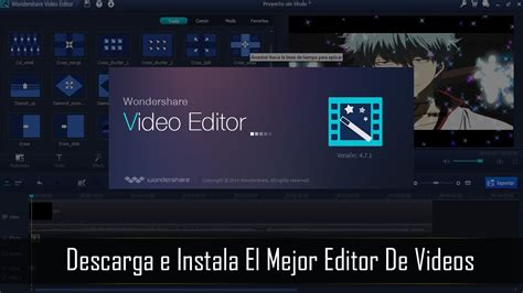 editor imagenes windows 10 descargar e instalar wondershare video editor para windows