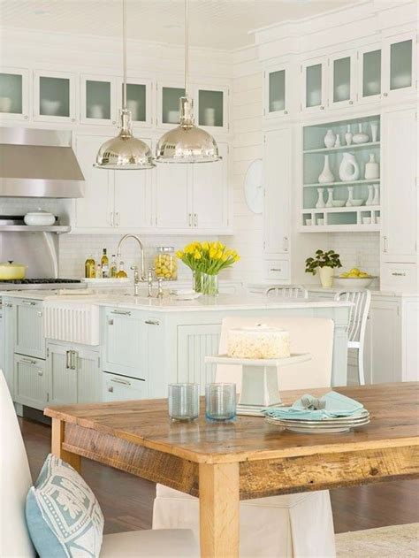 Mitre 10 Kitchen Cabinets by Classic Coastal Kitchen Rooms To Love Distinctive Cottage