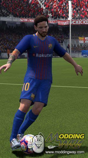barcelona fifa 18 fc barcelona 17 18 home kit fifa 14
