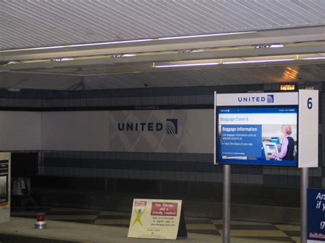 united airline baggage united airlines rebranding of terminal 1 at chicago o
