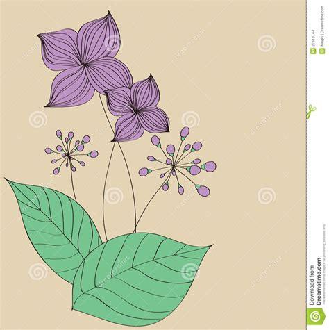 pattern name card design purple flower card pattern design stock vector image