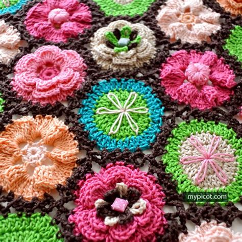 knit and crochet daily to crochet square basic square pattern
