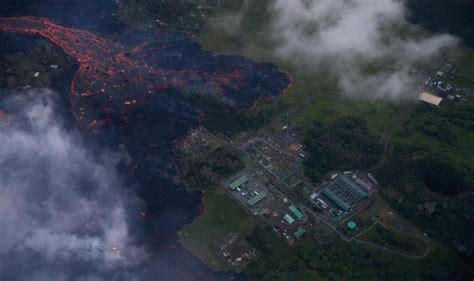 hawaii volcano eruption latest  lava reached
