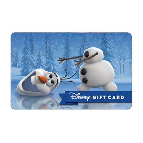 Gift Card Lost - your wdw store disney collectible gift card olaf lost my head