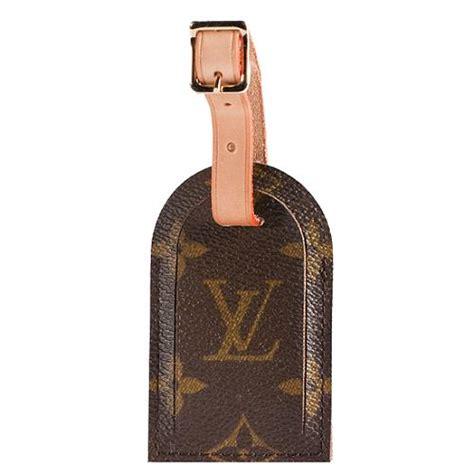 louis vuitton monogram canvas luggage tag