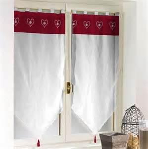 paire de rideaux voile hauteur 160 cm blanc esprit
