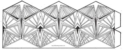 printable flextangle class activity kaleidocycles duffy stirling s teaching