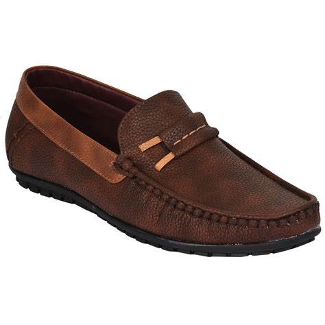 shoes loafer style n wear brown loafer shoes snw 123 style n wear