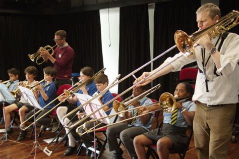 wind section orchestra june primary cluster orchestra day news university of