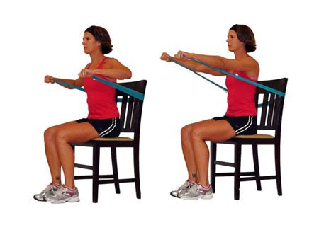 seated band exercises seated workout