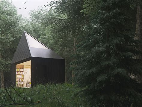Virtual Decorating by 10 Peaceful Cabin Designs That Immerse Themselves In Nature