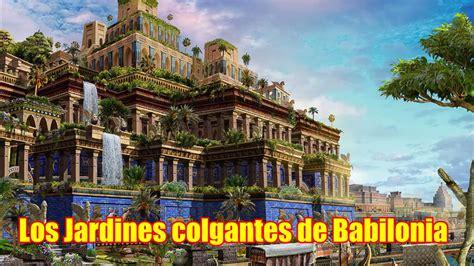 imagenes jardines babilonia las siete maravaillas del mundo 4 168 los jardines