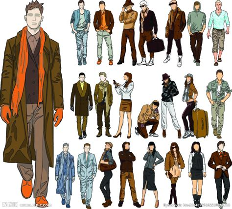 style trend black people 服装设计设计图 生活人物 人物图库 设计图库 昵图网nipic com