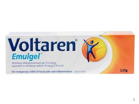 Voltaren Gel 20g c 244 ng dụng t 225 c dụng của thuốc voltaren emulgel gel 1 20g