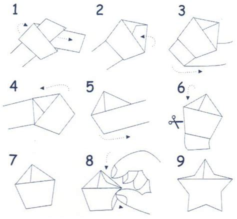 Origami Lucky Paper - diy sheet how to fold origami lucky by