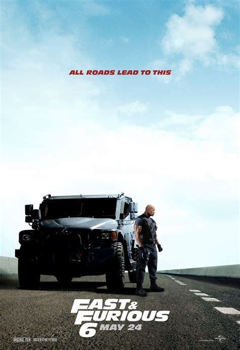 movie fast and the furious 6 fast furious 6 posters fast furious 6 stars dwayne