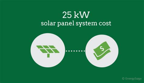 25 kw solar system cost how much does a 25kw solar system cost in 2017 energysage