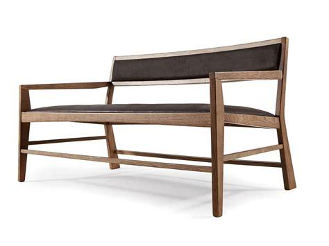 divanetti design divanetto minimale in legno di frassino imbottito
