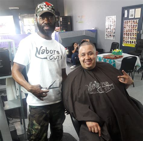 pima medical institute gives homeless haircuts at