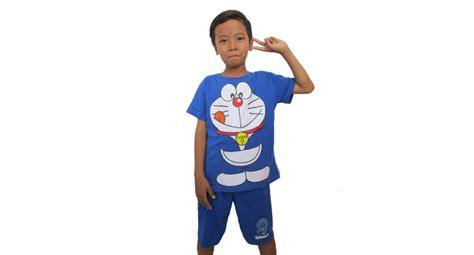 Kaos Doraemon 7 8 jual kaos anak karakter doraemon baju anak setelan laki