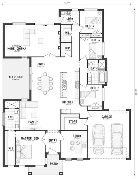 house store building plans floor plan friday a home with lots of storage katrina