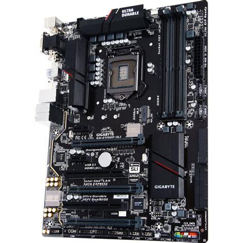 Motherboard Gigabyte Ga Hm110m A gigabyte ga z170xp sli atx motherboard ga z170xp sli b h photo
