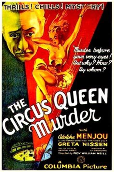 film circus queen 20 s 30 s 40 s horror thriller sci fi movie posters