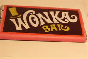 Willy wonka and the chocolate factory a replica wonka bar 1