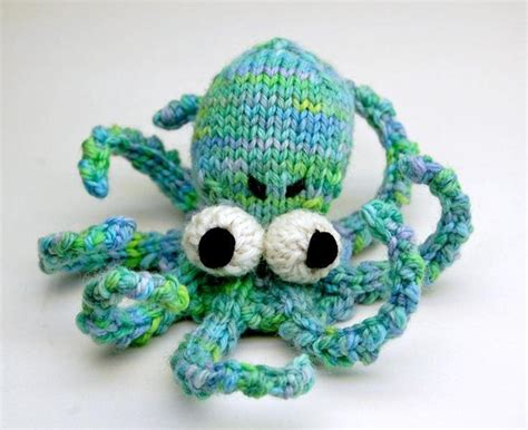 knit amigurumi the knit octopus for babies the and greatest way