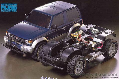 Tamiya Mitsubishi Pajero 58132 tamiya model database tamiyabase