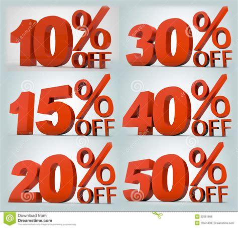 On Sale by On Sale Precentages Royalty Free Stock Image Image 32591866